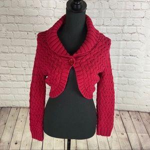 Express Crochet Knit Cardigan size Medium